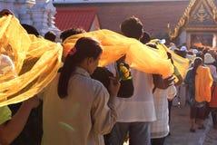 Cérémonie bouddhiste Image stock