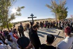 Cérémonie commémorative pour des victimes de l'attaque terroriste en octobre Photographie stock