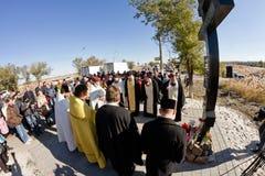Cérémonie commémorative pour des victimes de l'attaque terroriste en octobre photos stock