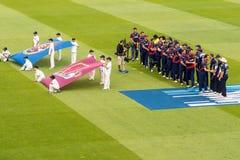 Cérémonie d'ouverture de match du cricket T20 Images stock
