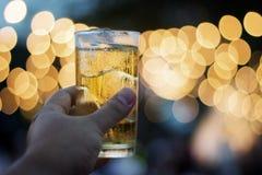 Cérémonie de bière de boissons Image libre de droits
