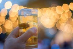 Cérémonie de bière de boissons Photo stock