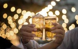 Cérémonie de bière de boissons Images stock