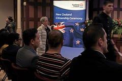 Cérémonie de citoyenneté du Nouvelle-Zélande à Auckland Nouvelle-Zélande Photo stock