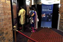 Cérémonie de citoyenneté du Nouvelle-Zélande à Auckland Nouvelle-Zélande Images stock