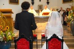 Cérémonie de mariage Image stock