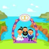 Cérémonie de mariage 01 Photographie stock libre de droits