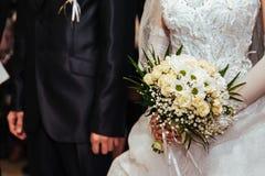 Cérémonie de mariage Bureau d'enregistrement Nouveau-marié images libres de droits