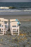 Cérémonie de mariage extérieure Photos stock