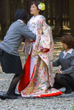 Cérémonie de mariage japonaise de shinto Photo libre de droits