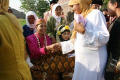 Cérémonie de mariage musulmane image libre de droits