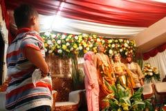 Cérémonie de mariage musulmane images libres de droits