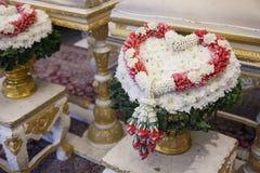 Cérémonie de mariage thaïe Images libres de droits
