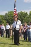 Cérémonie de Memorial Day Images stock