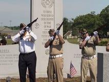 Cérémonie de Memorial Day Photo stock