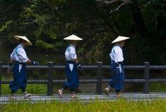 Cérémonie de moisson de riz Photographie stock libre de droits