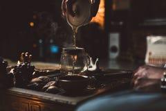 Cérémonie de thé chinoise photo libre de droits