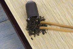 Cérémonie de thé chinoise image stock