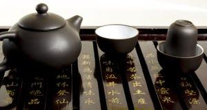 Cérémonie de thé dans le Chinois images libres de droits