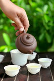 Cérémonie de thé Photos libres de droits