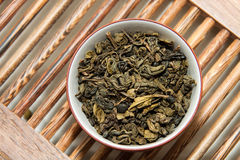 Cérémonie de thé vert Photographie stock libre de droits