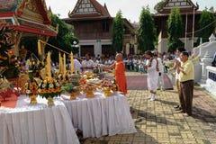 Cérémonie indoue de Naga en Thaïlande image libre de droits