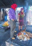 Cérémonie maya Photo libre de droits