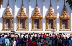 Cérémonie religieuse bouddhiste Photos libres de droits