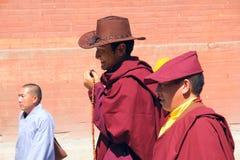 Cérémonie religieuse de bouddhisme Photographie stock libre de droits