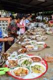 Cérémonie religieuse en Thaïlande Photographie stock