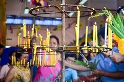 Cérémonie religieuse en Thaïlande Image libre de droits