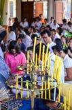Cérémonie religieuse en Thaïlande Photos libres de droits