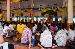 Cérémonie religieuse en Thaïlande Images stock
