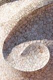 Céramique de dessus de toit de Pedrera de La images stock