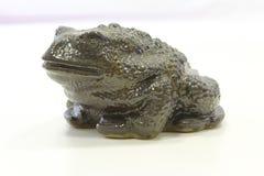 Céramique de figurine de grenouille photos stock