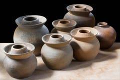Céramique de poterie d'argile Image libre de droits