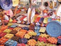 céramique tunisienne de tradition photo stock