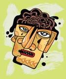 Cérebro de ebulição ilustração do vetor