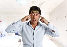 Cérebro do maquinismo de relojoaria Fotos de Stock Royalty Free