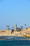 Césarée, Israël Photos stock