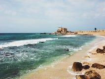 Césarée, Israël photographie stock libre de droits
