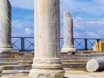 Césarée Maritima Photos libres de droits