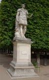 César Ambrogio Parisi -statue of Gaius Julius Caesar, Roman Emp. Paris,France- April 30, 2017: César Ambrogio Parisi -statue of Gaius Julius Caesar Royalty Free Stock Photo