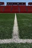 Césped de Ballfield en estadio Fotografía de archivo