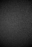 Césped negro de la pista Imagen de archivo
