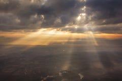 Céu abstrato da nuvem imagens de stock royalty free