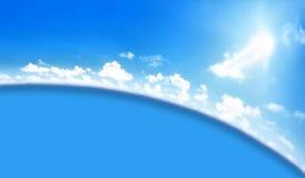 Céu abstrato dos fundos Fotografia de Stock
