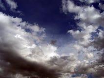 Céu acima de Bósnia Fotos de Stock Royalty Free