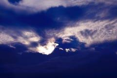 Céu agradável imagens de stock