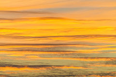 Céu alaranjado abstrato Imagens de Stock